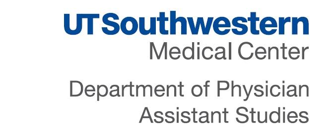UT Southwestern Medical Center Department of Physician Assistant Studies