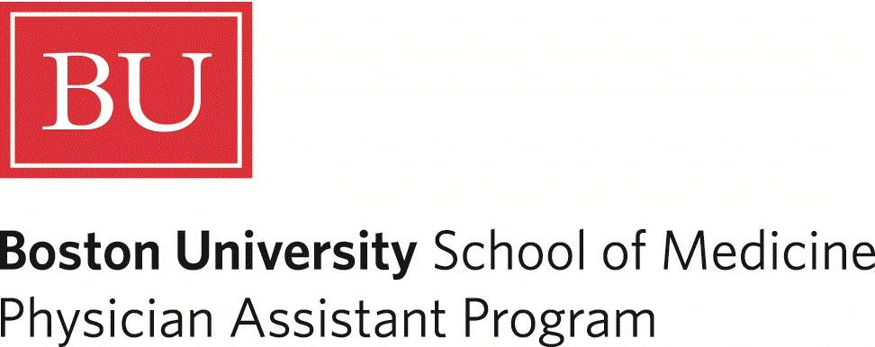 Boston University School of Medicine Physician Assistant Program